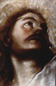 """Transfiguration"" huile sur toile"