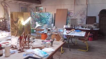 vue de l'atelier