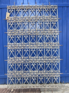 grille de la Medina de Marrakech
