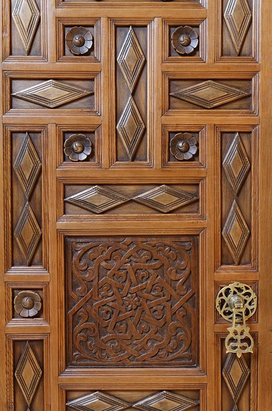 Samarkande Detail De La Petite Armoire Marocaine