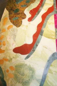 détail des pierres: jaspe, jade vert, jaune, adjouba...