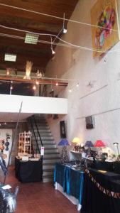 boutique éphémère à Montpeyroux. 14 créateurs: artistes et artisans.